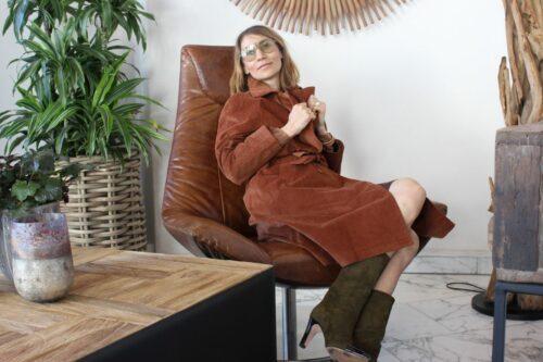 Le Redoute coat modern mom fashion