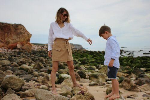 Family holiday travel