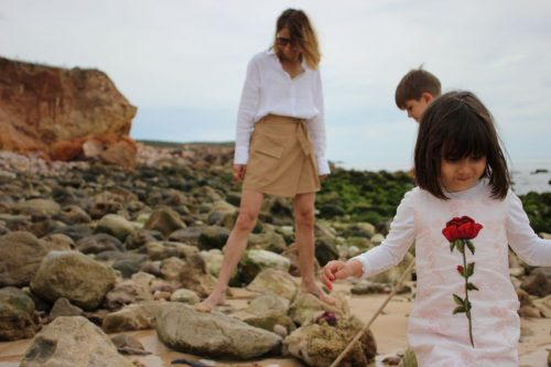Family vacation beach Sagres